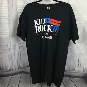 Kid Rock Senate Black Tee '18 Run XXXL